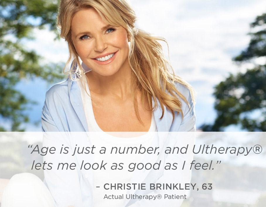 Christie Brinkly on Ultheray